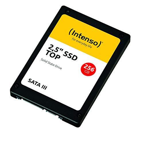 """SSD накопитель Intenso Top III 256GB 2.5"""" SATA 6Gb/s (3812440)"""