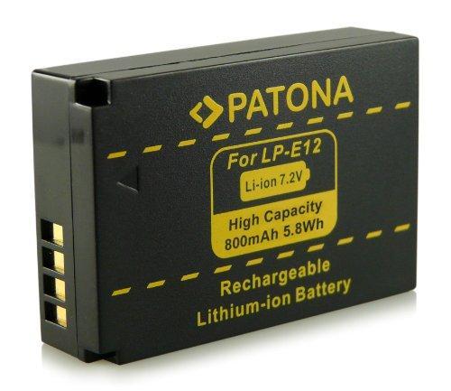 Батарея PATONA Canon LP-E12 для камер Canon EOS 100D / EOS M / EOS Rebel SL1