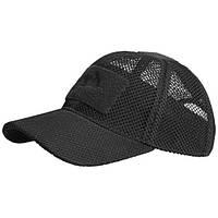 Бейсболка Helikon Baseball MESH Cap black CZ-BBМ-PO-01 (CZ-BBM-PO-01)