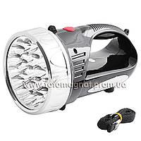 Фонарь переносной(фонарь светодиодный аккумуляторный) YAJIA 2805, 22LED