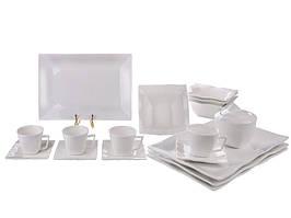 Кофейный набор фарфоровый на 4 персоны, 17 предметов 920-107