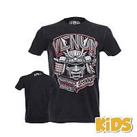 Детская футболка Venum Shogun Supremacy Junior T-shirt (V-SSJ-BK), фото 1