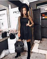 Платье женское нарядное черное (мод. 280), фото 1