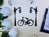 Топпери Франція, Топпер дівчина з ейфелевою вежею, ейфелева вежа на торт, топпер велосипед,Топпер Paris, фото 10