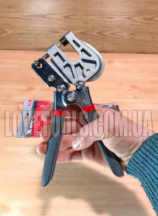 Просекатель для металлического профиля (под гипсокартон), работа одной рукой  MTX