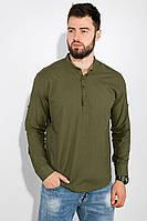 Рубашка мужская  511F014 цвет Хаки