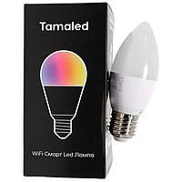 Смарт-лампа Tamaled TL04 5W, White (RGBW, E27, 600LM), Декоративная