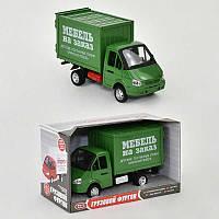 Машинки с инерцией Газель Мебель на заказ, со звуком и светом, на батарейке - 218645