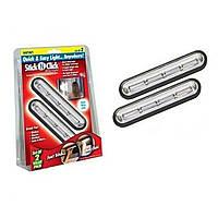Беспроводные самоклеющиеся светильники Stick n Click