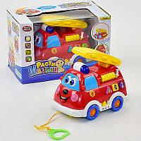 """Музыкальная игрушка 9163 """"Пожарная команда"""" свет, звук."""