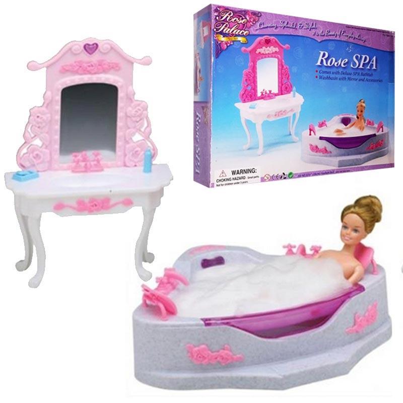 "Набор мебели ""Gloria"" 2613 для ванной, джакузи, зеркало, раковина"