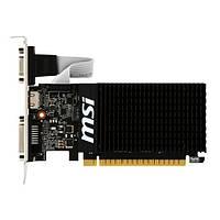 Видеокарта MSI GeForce GT 710 1Gb DDR3 1600 МГц (GT 710 1GD3H LP), фото 1