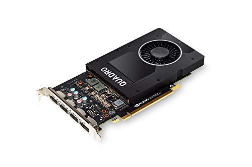 Видеокарта PNY NVIDIA Quadro P2000 5 GB DDR5 4xDisplayPort 1.4 (VCQP2000-PB)