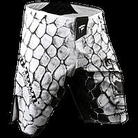 Шорты ММА PunchTown Frakas Ryushin Shorts White (PT-Ryushin-W)