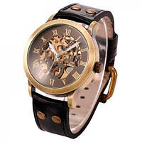 Мужские часы Winner 01156 Коричневые