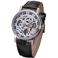 Мужские часы Winner 01115 Черные