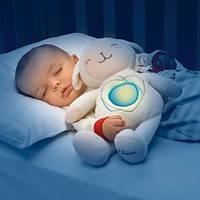 Ночник игрушка любимая овечка развивающая мягкая Chicco 60048