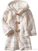 Тёплые вязаные кофты, свитера, туники, кардиганы для девочек
