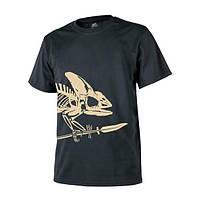Футболка Helikon T-Shirt Full Body Skeleton Black TS-FBS-CO-01