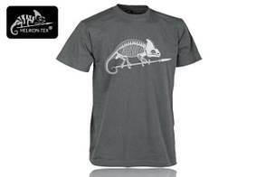 Футболка T-shirt Helikon 'Szkielet kameleona' Shadow Grey (TS-SKC-CO-35) XXL (TS-SKC-CO-35 XXXL), По