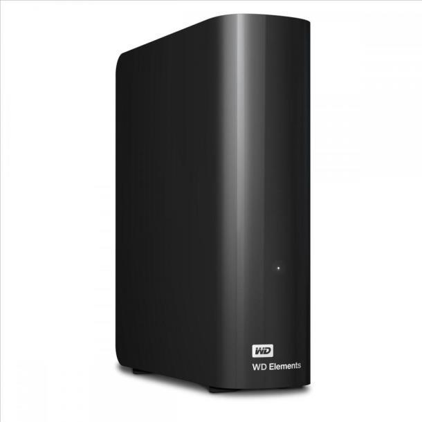 Внешний жесткий диск WD Elements Desktop 4Тб WDBWLG0040HBK