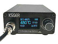 Паяльная станция T12, STM32 V2.01 OLED 1.3, 120Вт, фото 1