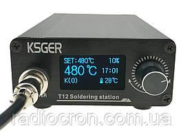 Паяльна станція T12, STM32 V2.01 OLED 1.3, 120Вт