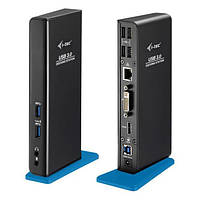 Док станция i-tec USB 3.0 Dual Docking Station HDMI DVI