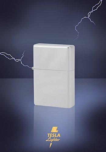 Дуговая зажигалка Tesla Lighter T03/Т01 bis T20 SILVER