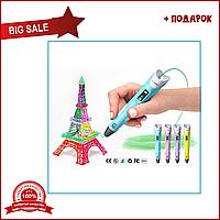 3d ручка PEN-2 (желтый, синий, фиолетовый, розовый)