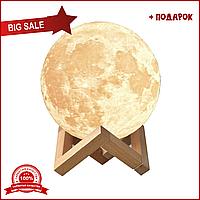 Настольний светильник луна, Magic 3D Moon Light