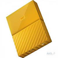 Жесткий диск WD My Passport 2 TB Yellow (WDBS4B0020BYL), фото 1