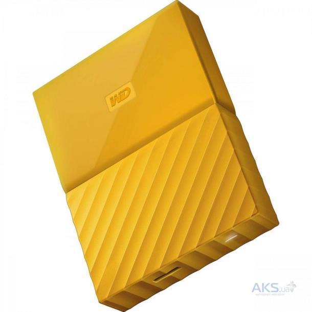 Жесткий диск WD My Passport 2 TB Yellow (WDBS4B0020BYL)