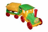 Поезд-конструктор 1 прицеп 013115/2 салатовый