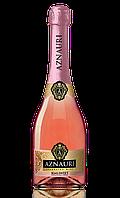 Вино (шампанское) игристое Aznauri полусладкое розовое  0.75л 10-13%