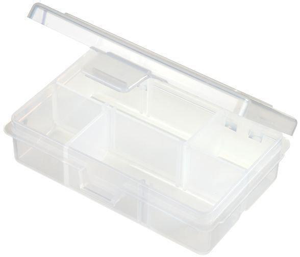 Коробка пласт. 1002 Flambeau (1 фикс.,4 зйомн.перег.) 12,1х8,3х3,5см (1002)