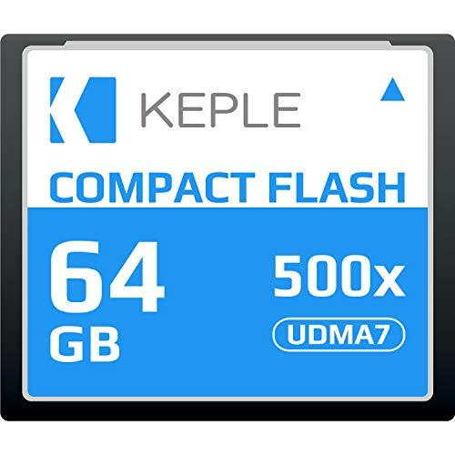 Карта памяти Keple Compact Flash 64 GB UDMA 7 500x 75MB/s Supports 4K