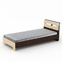 Кровать Компанит 90х200 Стиль Венге комби New-101, КОД: 948836