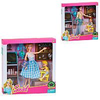 Кукла 7760 А, учительница, 2 вида, в коробке