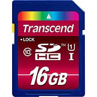 Карта памяти Transcend 16 GB SDHC UHS-1 Ultimate TS16GSDHC10U1, фото 1