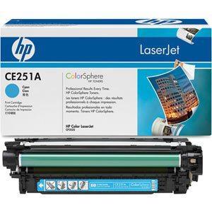 Картридж HP CLJ CM3530/ CP3525 (504A) CE251A Cyan оригинальный