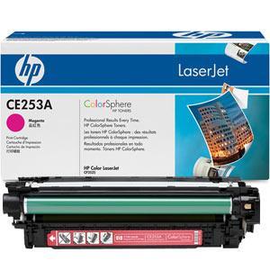 Картридж HP CLJ CM3530/ CP3525 (504A) CE253A Magenta оригинальный