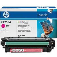 Картридж HP CLJ CM3530/ CP3525 (504A) CE253A Magenta оригинальный, фото 1