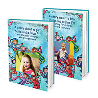 Name book Your Baby and the Blue Elf, or the Story for the Skeletal Children FTBKBLUEN, КОД: 220673