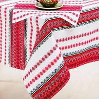 Украинская скатерть вышитая с салфетками набор