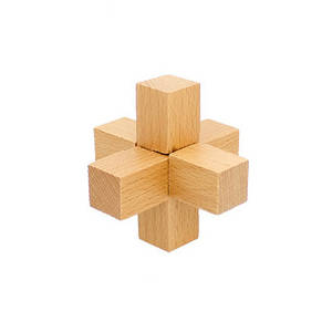Деревянная игрушка Головоломка MD 2056 (Лёгкий узел MD 2056-4)