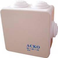 Коробка распределительная АСКО  85х85х50