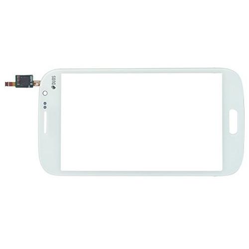 Сенсорний екран для смартфону Samsung I9150 Galaxy Mega 5.8, I9152 Galaxy Mega 5.8, тачскрін білий