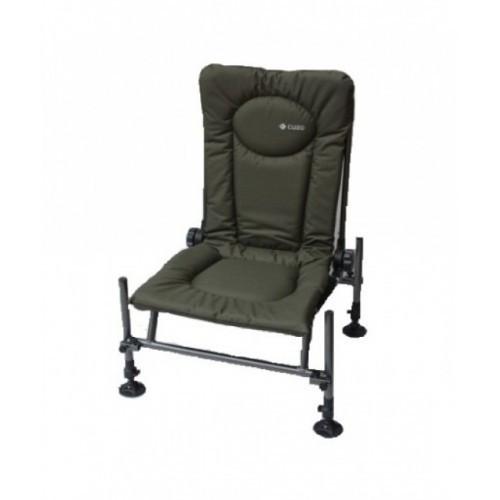 Кресло фидерное карповое Elektrostatyk F2 CUZO (до 110 кг) ОЛИВКА