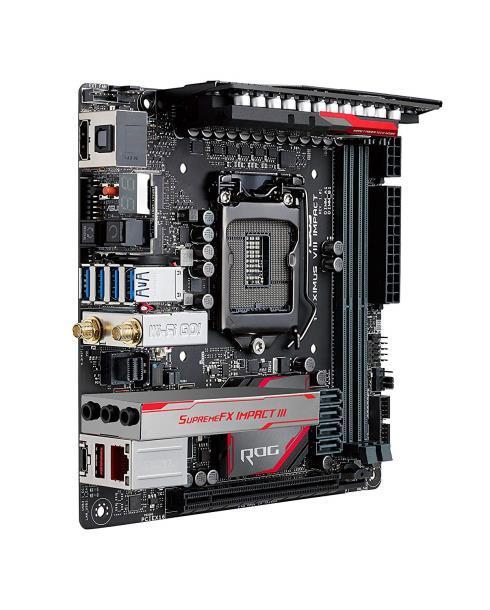 Материнская плата Asus ROG Maximus VIII Impact Sock1151,Mini-ITX,Intel Z170,2xDDR4 (90MB0NS0-M0EAY0)